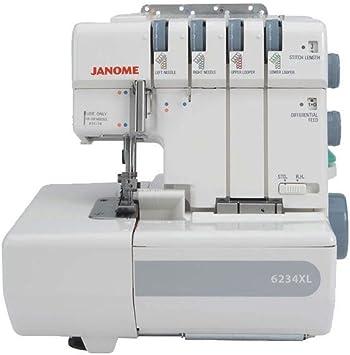 Janome - Máquina de Coser (6234XL): Amazon.es: Hogar