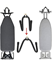 Pmsanzay Metal Ironing Board Holder, Wall Mount Ironing Board Hanger Storage Organizer Display - Adjustable Rack Suitable for All Ironing Boards, for Laundry Rooms, Utility Room, Garage