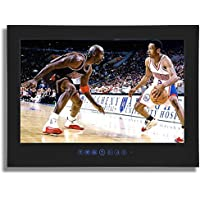 Soulaca 19 IP66 Waterproof Black LED Frameless Bathroom TV T190FS-B
