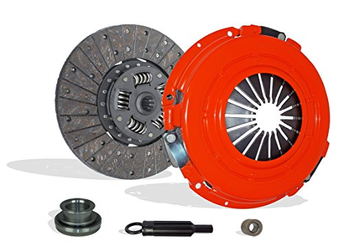 Clutch Kit Works With Chevrolet Gmc C G K Series Trucks Suburban Silverado Cheyenne Beauville Sportvan Chevy Van Sport Base Sierra SLE 1979-1991 5.7L V8 GAS OHV Naturally Aspirated (Stage 1)