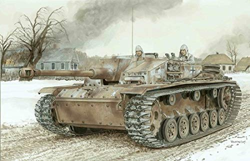 - 1/35 StuG.III Ausf.F/8 Late Production w/Winter Track ~ Smart Kit