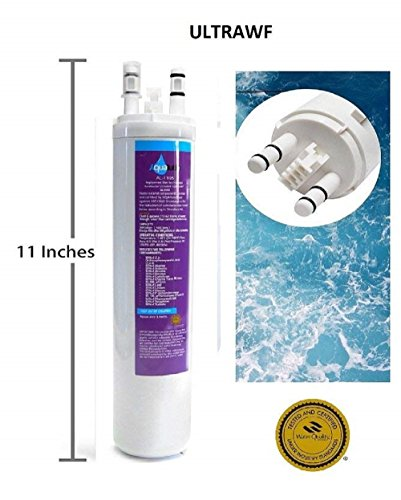 Best ULTRAWF Water Filter - Replacement For 46-9999 Side-By-Side Refrigerators FGHC2331PF 242017800 242017801 PS2364646 A0094E28261 FGHS2631PF4A by Aqualutio [WQA Certified]