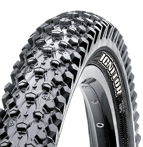 Maxxis Ignitor Mountain Bike Tire (Folding 70a, 29x2.1),Black - 29er Tire Mtb
