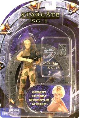 Stargate Series 4 Desert Combat Action Figure: Desert Samantha