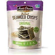 Annie Chun's Baked Seaweed Crisps, Original Flavor, Non-GMO, 1.27-ounce (10-Pack), Thin & Crispy Chips