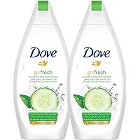Dove Shower Gel Fresh Touch, 2 x 500 ml