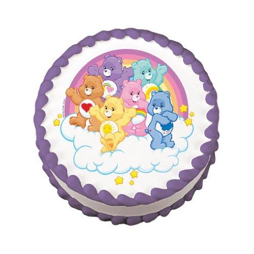 (Care Bears Edible Image Cake Topper)
