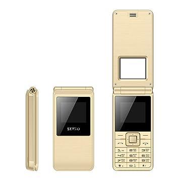 "SERVO 2017 Flip Phone 1.77""Spreadtrum6533 Tarjeta SIM Dual Celular GSM Vibración Fuera de Radio"