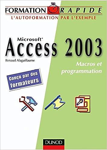 programmation avec access