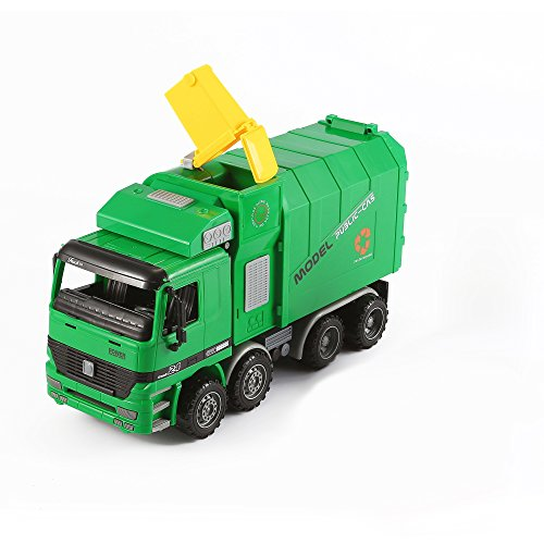garbage truck with side loader - 2