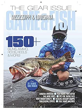 Mississippi louisiana game fish magazines for Mississippi fish and game