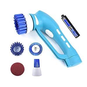 Cepillo eléctrico de la limpieza de la cocina con la cabeza ...