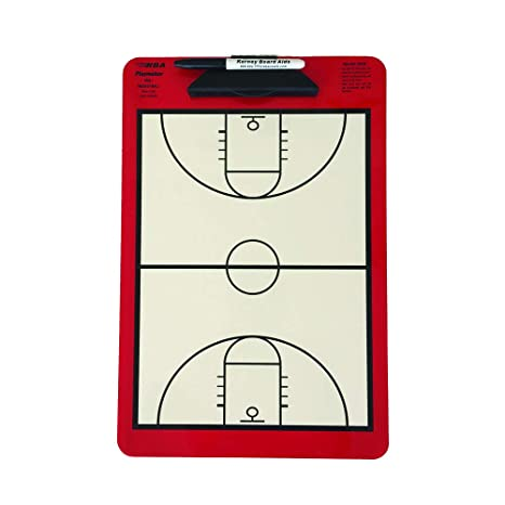 Single Play Coaches' & Referees' Gear KBA Football Coaches 12 x 18 Playmaker Clipboard