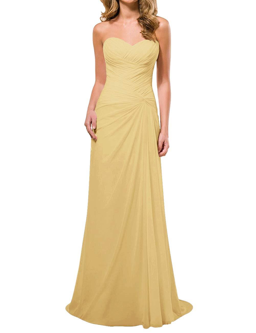 H S D Wedding Dresses Beach Bridal Dresses Pleated Bridal Gown Sweetheart Long Chiffon,Plus Size Designer Wedding Dress
