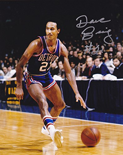 (Dave Bing Detroit Pistons Signed 8x10 Photo )