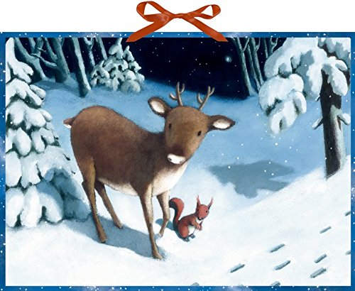 Wandkalender - Rentier-Weihnacht