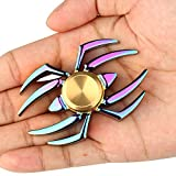 LUNIWEI Spider Alloy Hand Spinner Fidget Focus Toy EDC Finger Spin Gyro ADHD Autism