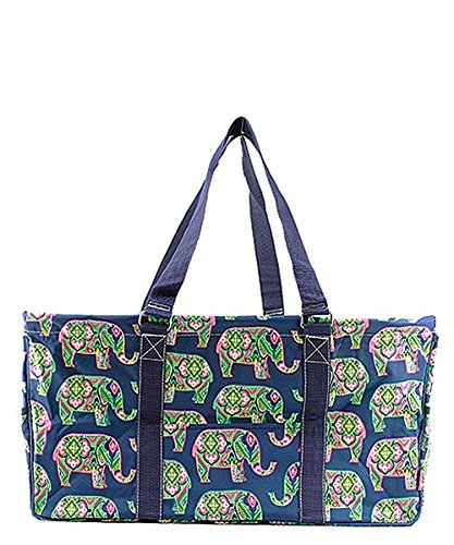 """Large Tote Bag Collapsible~23""""~Utility~Laundry~Diapers~Picni"""