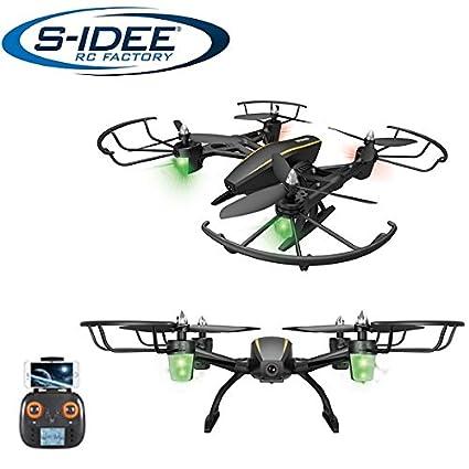 S de Idea® 17105 s373 WiFi dron HD cámara FPV RC cuadricóptero ...