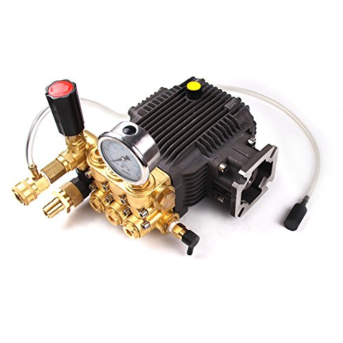 "High Pressure Power Washer Pump 3.1 GPM 3000 psi 6.5 HP 3/4"" Shaft fits Cat General AR"