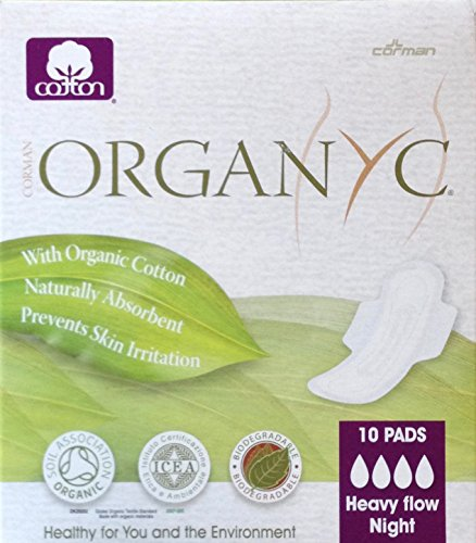 Organyc Heavy Flow Night Count product image