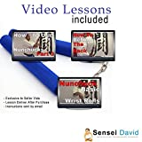 Sensei David Foam Nunchucks with Video Lessons