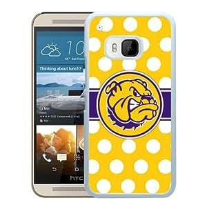 NCAA Western Illinois Leathernecks 6 White Popular Custom Design HTC ONE M9 Phone Case