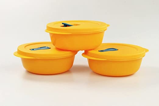Tupperware Microondas crystalwave (3) 600 ml Bowl Naranja ...