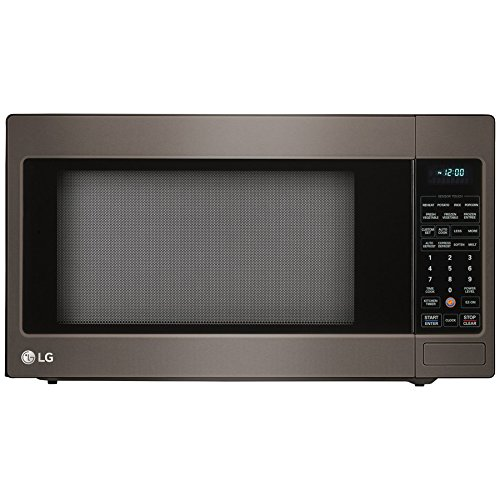 2.0 Cu. Ft. 1200W Countertop Microwave Oven with TrueCook Plus and EasyClean Interior, Black Stainless Steel