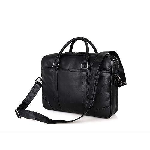 9c08b320d078 Xinyuan Men s Leather Handbag Men s Shoulder Diagonal Business Bag 15 Inch Computer  Bag Briefcase Travel to