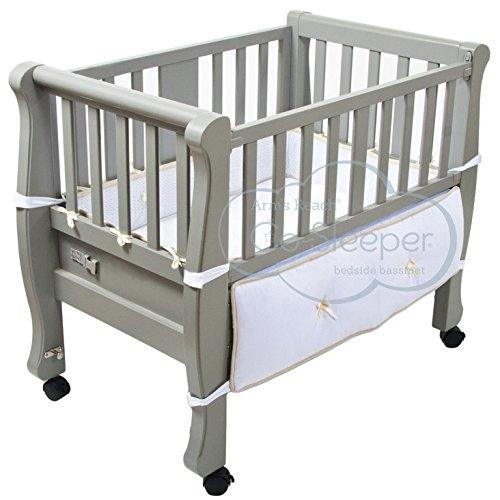 Arms Reach Sleigh Bed Co-Sleeper Co Sleeper Sleigh Bed