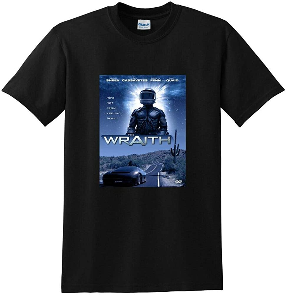 DSFG The Wraith T Shirt 1986 Charlie Sheen bluray DVD: Amazon.es: Ropa y accesorios