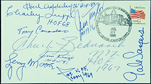 football-hofer-signed-first-day-cover-9-signatures
