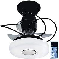 Ventilador de Teto Treviso Monaco com Controle Remoto (Preto)