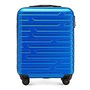 WITTCHEN Koffer – Handgepäck   hartschalen, Material: ABS   hochwertiger und Stabiler   Blau   38 L   54x39x23 cm