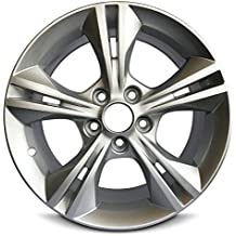 """New Ford Focus 16 Inch Silver Aluminum Wheel OEM Factory Replica Rim (16x7 5x108mm or 5x4.25"""" Offset of 50mm Center Bore of 63.4mm)"""