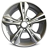 New Ford Focus 16 Inch Silver Aluminum Wheel OEM Factory Replica Rim (16x7 5x108mm or 5x4.25'' Offset of 50mm Center Bore of 63.4mm)
