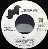 CAMEL ANOTHER NIGHT 45 rpm single