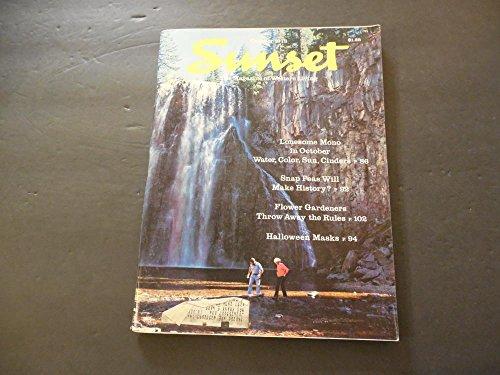 Sunset Magazine Of Western Living Oct 1978 Halloween -