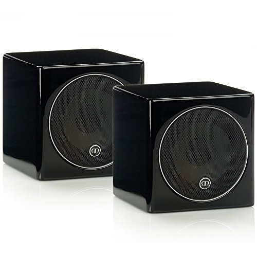 Monitor Audio Radius 45 - Par de caixas acústicas Surround para Home Theater Preto Laqueado