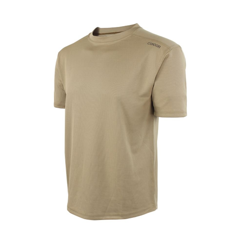 Condor Outdoor MAXFORT Performance Training Top (X-Large, Tan)