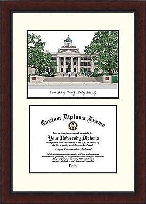 Western Kentucky University Legacy Academic Scholar Graduate Diploma Frame - 2017 Graduation Diploma Frame