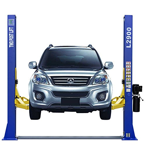 Lift Post (XK L2900 Car Lift 9,000 LB 2 Post Lift Car Auto Truck Hoist w/12 Month Warranty 220V)