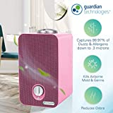 Germ Guardian HEPA Filter Air Purifier for Home, UV Light Sanitizer Eliminates Germs, Mold, Odors,Kids Rooms,Night Light Projector, Filters Allergies,Pollen,Smoke,Dust,Pet Dander, 4-in-1 AC4150PCA