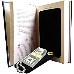 Streetwise Fake Large Hardbound Diversion Book Gun Safe Secret Compartment Review
