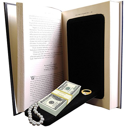 Streetwise Fake Large Hardbound Diversion Book Gun Safe Secret Compartment (Safe Storage Secret)