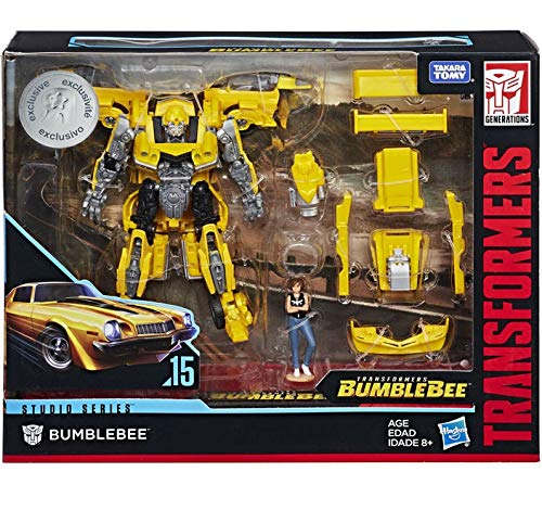 Deluxe Garage Kit - Transformers Studio Series Deluxe Class Rebekah's Garage Bumblebee with Charlie Exclusive Figure