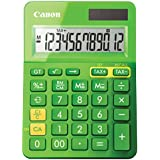 Canon Office Products 9490B017 LS-123K Desktop Basic Calculator, Metallic Green