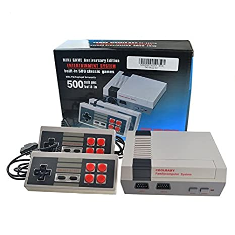 Video Consola Retro Tipo Mini Nes Classic Con 500 Juegos Tv Y 2