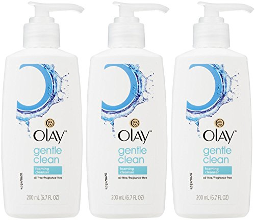 Olay Gentle Cleansers - Olay Gentle Clean Foaming Cleanser, 6.7 Ounce (Pack of 3)